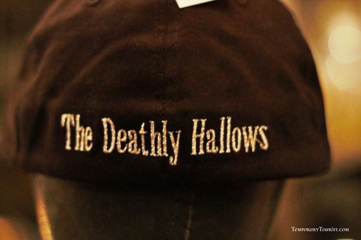 Deathly Hallows Ball cap from Borgin & Burkes Knockturn Alley