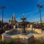 Hub Construction Update – Plaza Gardens West FastPass Viewing Area Now Open at Magic Kingdom