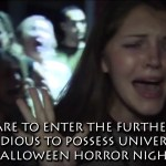 DARE TO ENTER THE FURTHER… Insidious to Possess Universal's Halloween Horror Nights