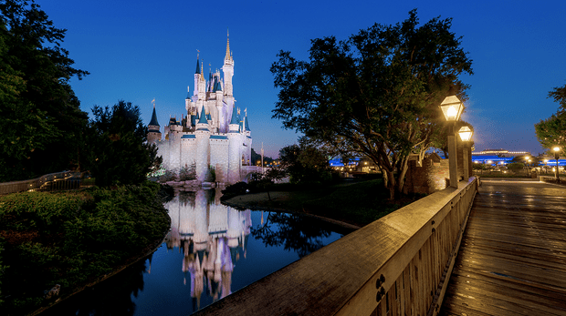Disney After Hours Cinderella Castle