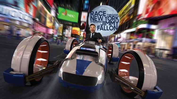Race Through New York Starring Jimmy Fallon at Universal Studios will Open April 6th, 2017