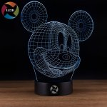 Disney 3D LED Projection Lamps That Every Kid, Big & Little will LOVE!