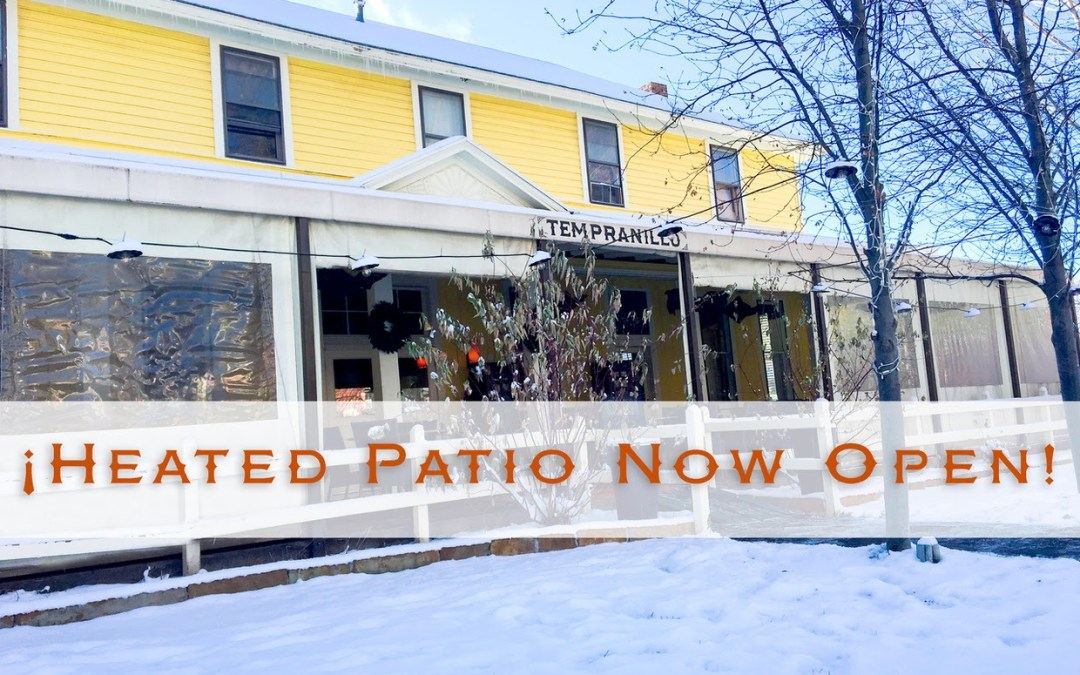 Tempranillo Opens Heated Patio for Outdoor Dining