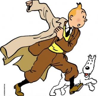 Tintin et Milou (AP)