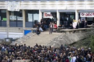 L'université de Rennes bloquée. (Sipa)