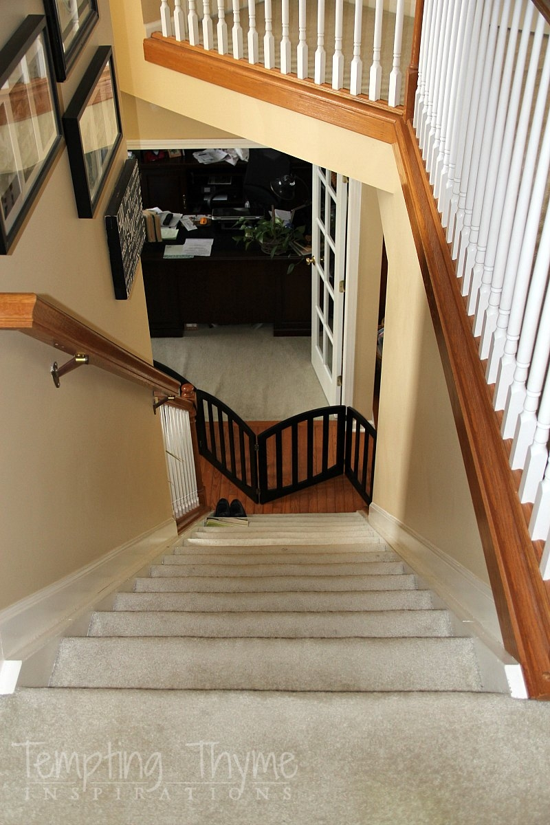 Stair Project Begins Removing The Carpet And Prepping The Wood   Carpet On Wooden Stairs   Victorian   Combined Wood   Jute   Dark   Hall