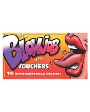 Blowjob Vouchers  - Book of 10
