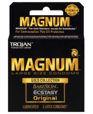 Trojan Magnum Gold Collection - Box of 3
