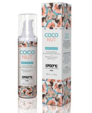 EXSENS of Paris Warming Massage Oil - Coconut