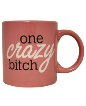 Attitude Mug One Crazy Bitch