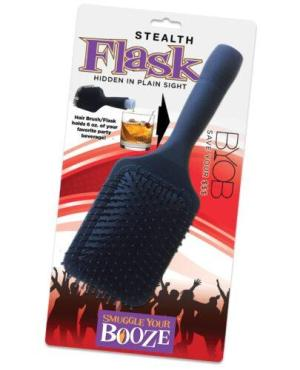 Smuggle Your Booze Brush Flask