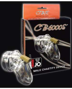 """CB-6000 2 1/2"""" Cock Cage & Lock Set - Clear"""