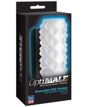 OptiMale 2 Way Strokers  Studs- Clear