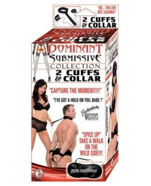 Dominant Submissive Collection 2 Cuffs & a Collar