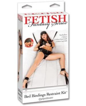Fetish Fantasy Series Bed Restraint Bondage Kit