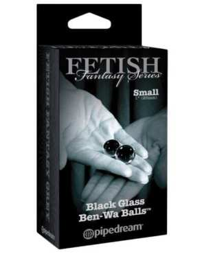 Fetish Fantasy Limited Edition Black Glass Ben-Wa Balls - Small