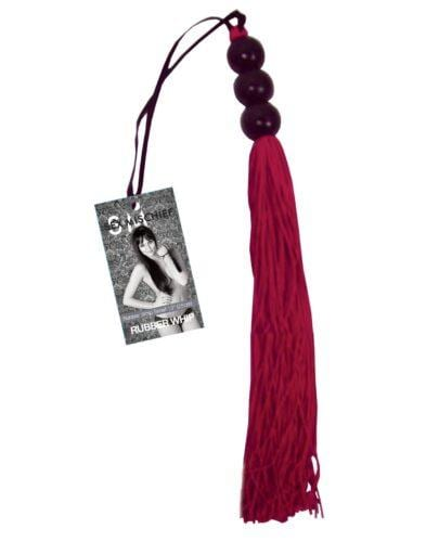 Sex & Mischief Small Whip - Red