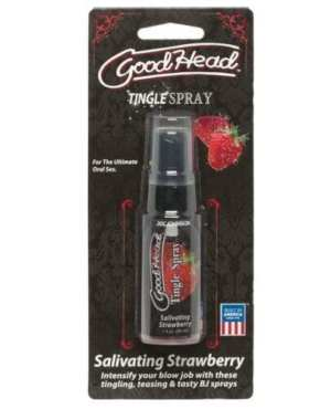 Good Head Tingle Spray - Salivating Strawberry
