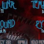 Temptress Monte Luna 20211022 Westside Bowl flyer