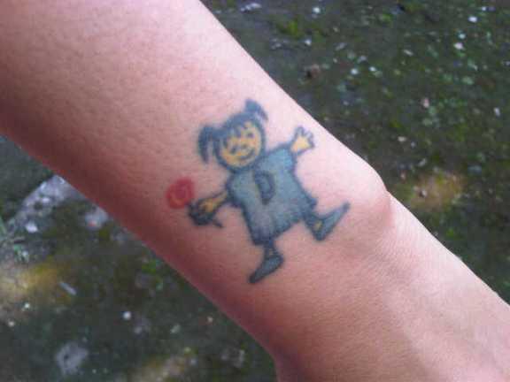 Tattoo yang Imut