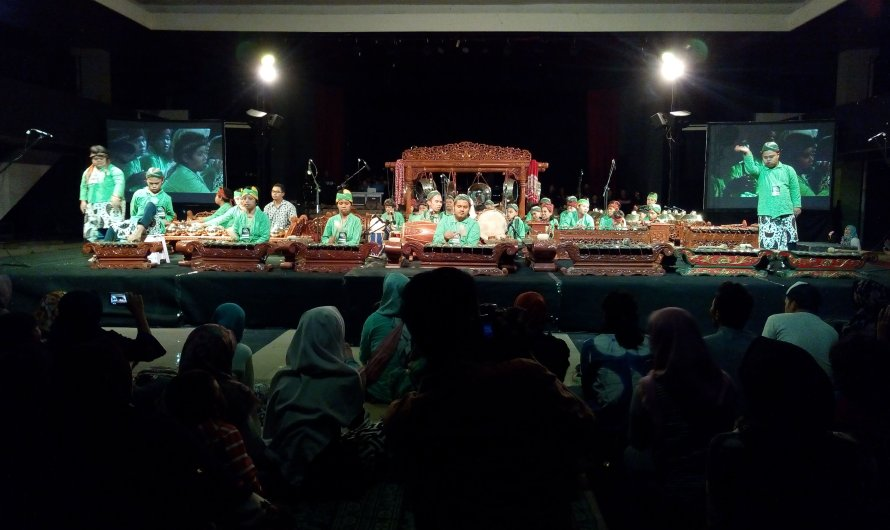 Konser Gamelan Yogyakarta Gamelan Festival 2018 Hari Kedua