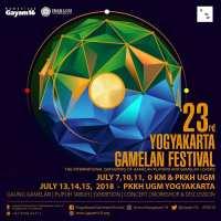 Pagelaran Yogyakarta Gamelan Festival 2018