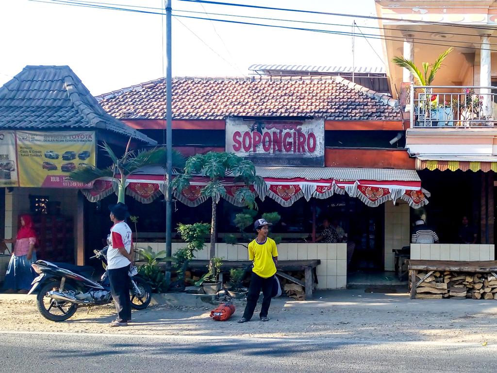 Depot Sate Gule Sopongiro Pamekasan