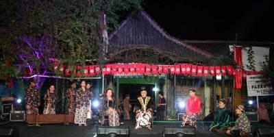 Kelompok Ketoprak Distra Budaya di Pesta Rakyat Kampung Terban FKY 2019