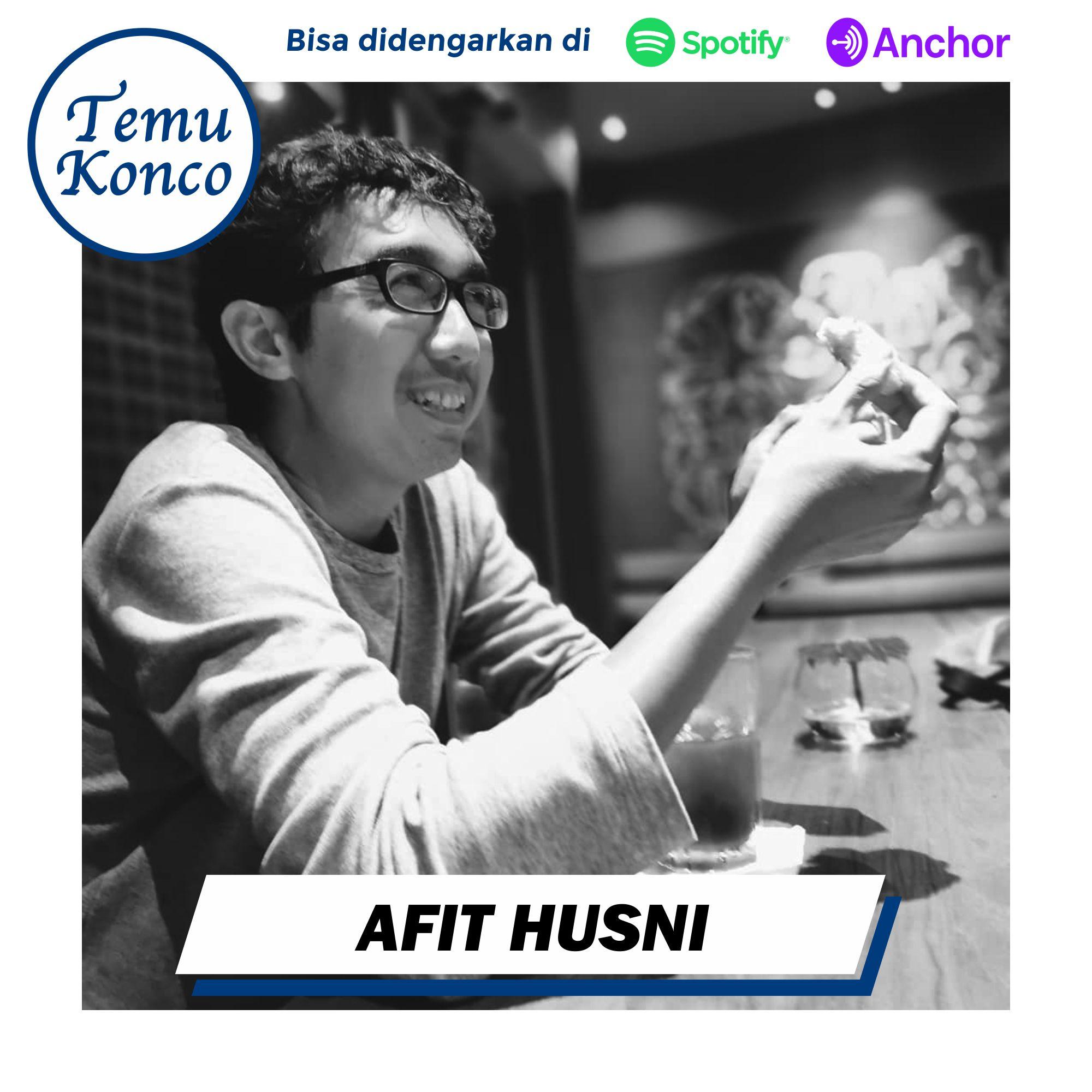 TemuKonco Podcast Eps. 30 Afit Husni - Digital Nomad