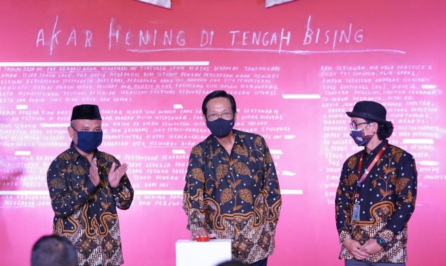 "Festival Kebudayaan Yogyakarta 2020 ""Mulanira 2"" resmi dibuka"
