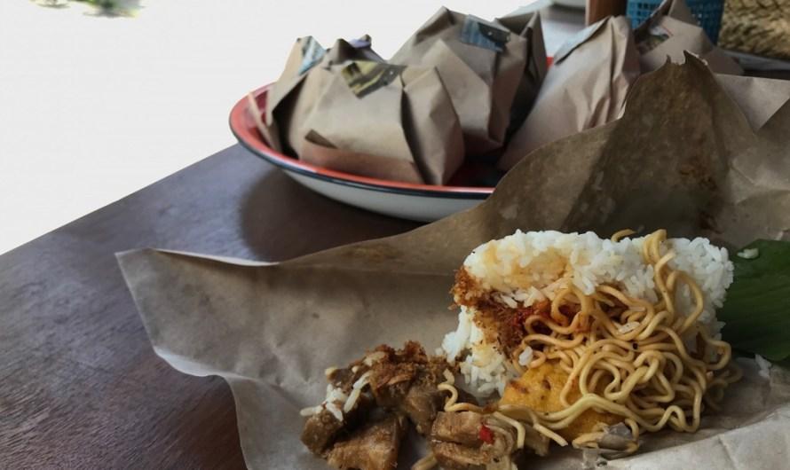 Nasi bungkus sebagai media perlawanan