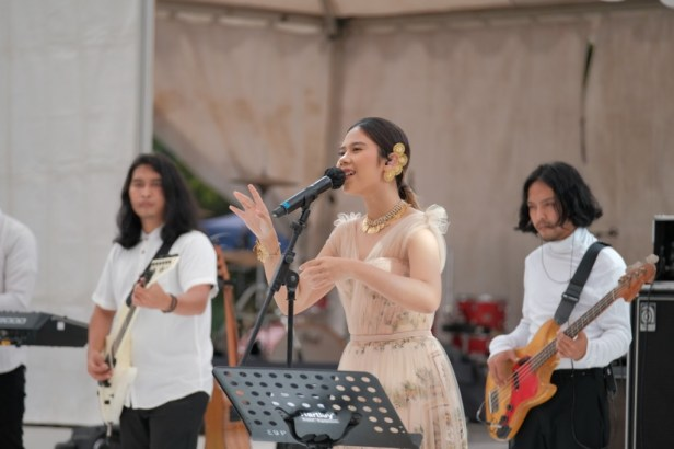Nadin Amizah di Prambanan Jazz Virtual Festival 2020