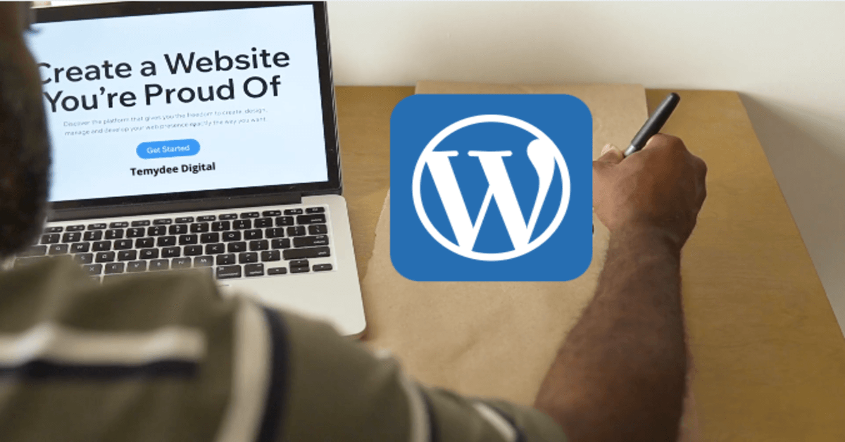 how to create a WordPress website step by step