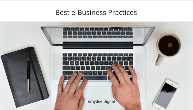 Temydee Digital Best e-Business Practices