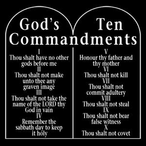 10 commandments # 76