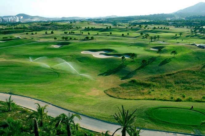 Meliá Villaitana Golf.