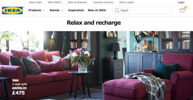 ikea - Worldwide Online Shopping Site