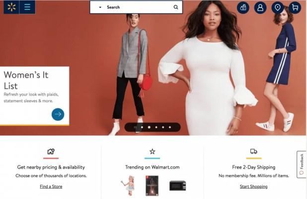 Walmart.com Online Shopping Site