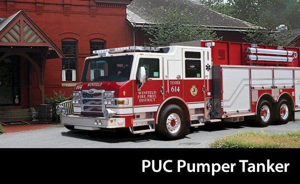 Pierce PUC Pumper Tanker