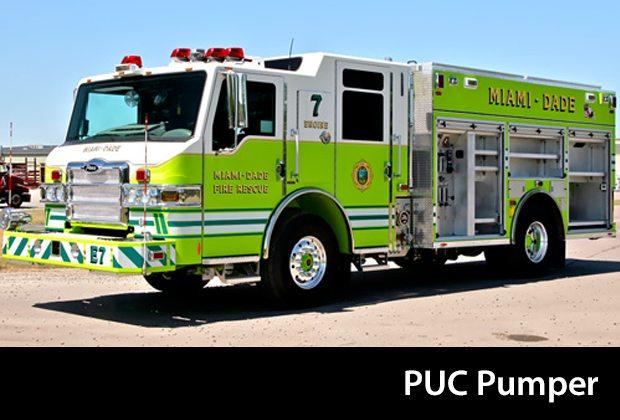 Pierce PUC Pumper