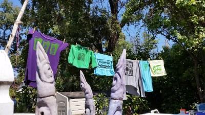 Demo prints drying.