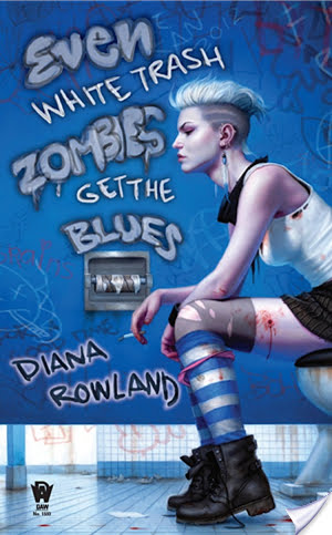 Audiobook Review: Even White Trash Zombies Get the Blues by Diana Rowland