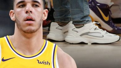 Photo of Lonzo Ball Rocks $1,000 Designer Shoes After Ditching Big Baller Brand