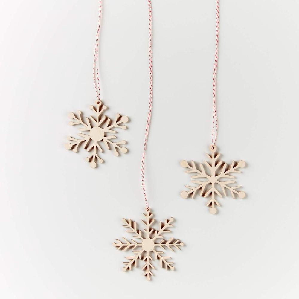 laser cut paper art snowflakes