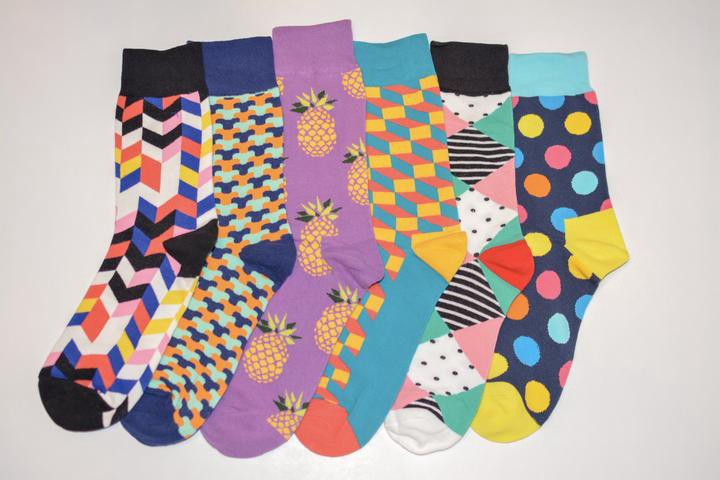The loud styles may knock your socks off. Luckily KYSO has you covered