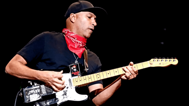 Tom Morello is known for making interesting sounds using his amp wire, but try to keep the Rage out of your rig.