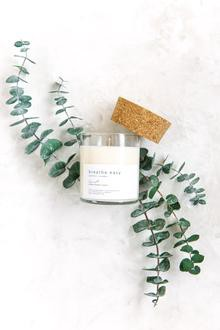 Breathe easy with soy candles