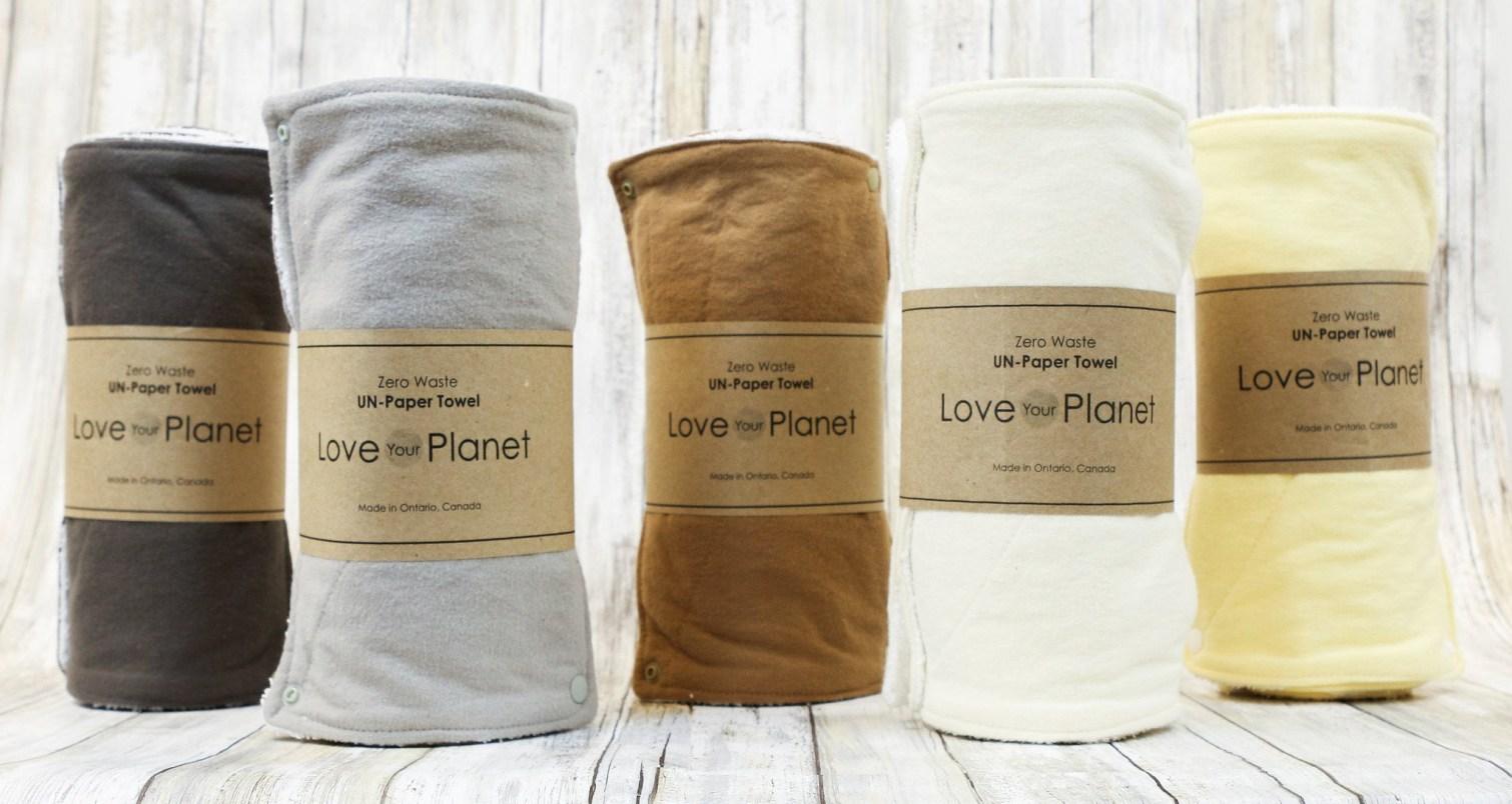 Zero waste unpaper towel