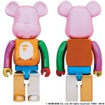 【本日12時~】A BATHING APE(R) 25th ANNIV. MULTI COLOR BE@RBRICK