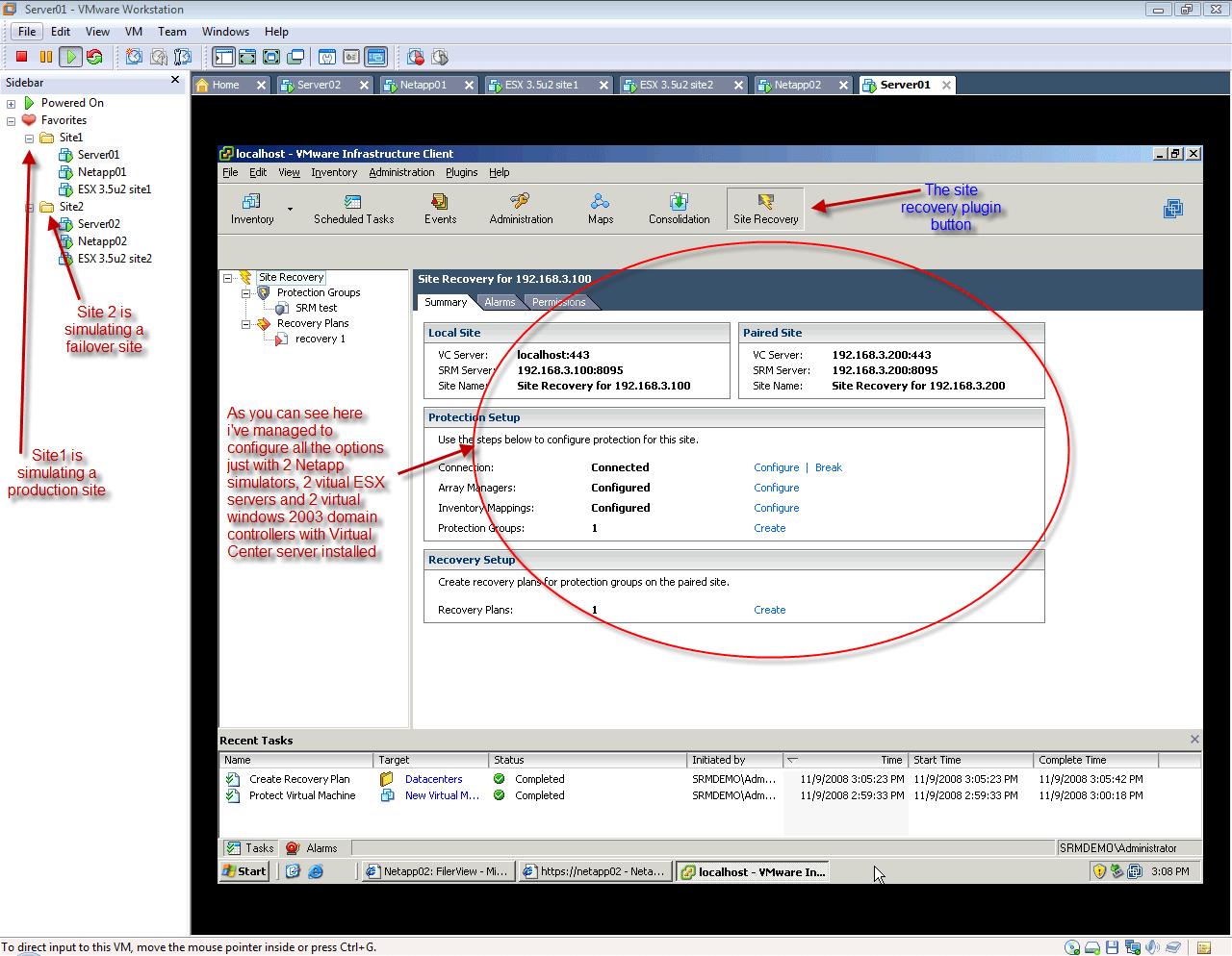 SRM workstation overview